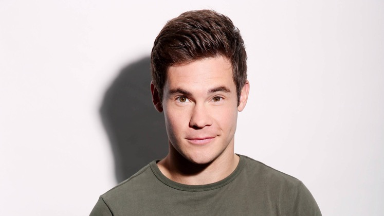 Large image of stand-Up comic Adam DeVine