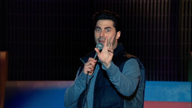 Large image of stand-Up comic Adam Ray