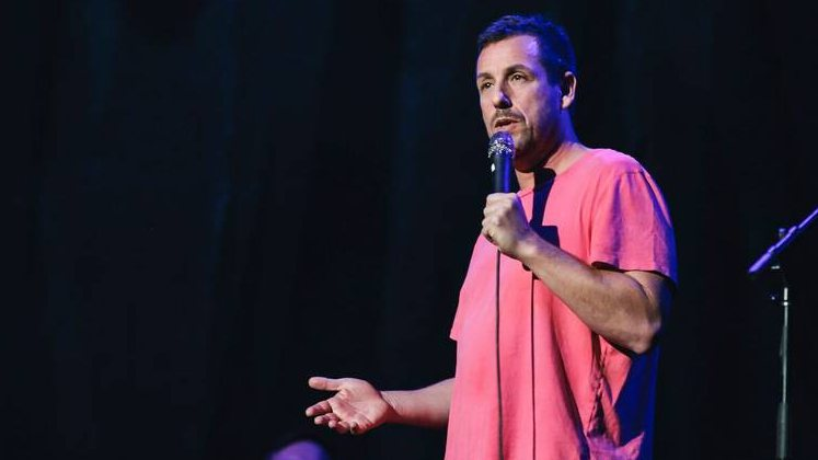 Large image of stand-Up comic Adam Sandler
