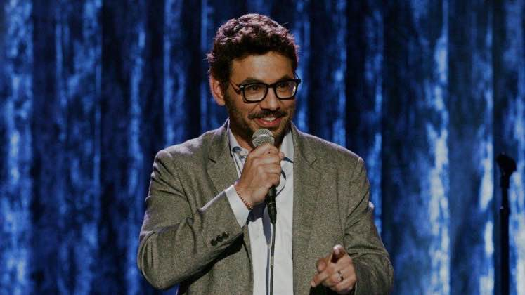 Large image of stand-Up comic Al Madrigal