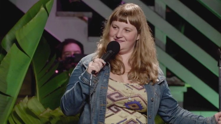 Large image of stand-Up comic Amy Miller