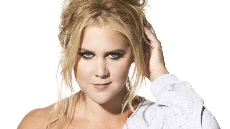 Large image of stand-Up comic Amy Schumer