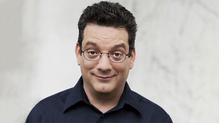 Large image of stand-Up comic Andy Kindler