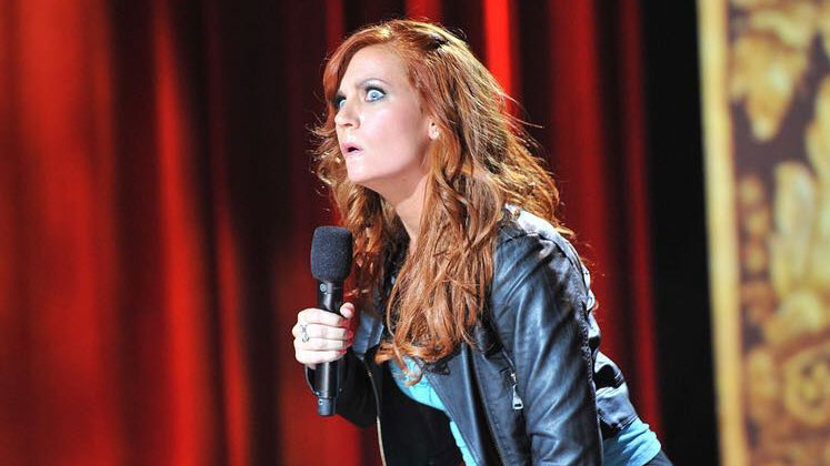 Large image of stand-Up comic April Macie