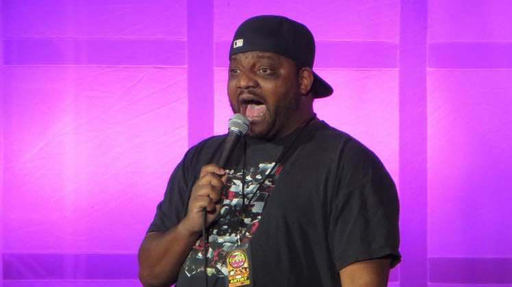 Large image of stand-Up comic Aries Spears