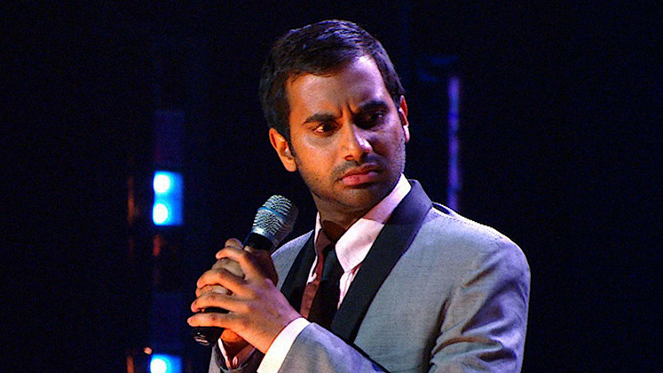Large image of stand-Up comic Aziz Ansari