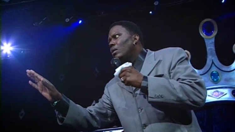 Large image of stand-Up comic Bernie Mac