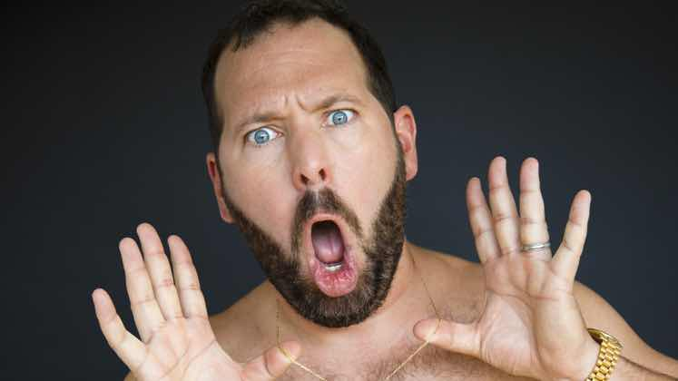 Large image of stand-Up comic Bert Kreischer