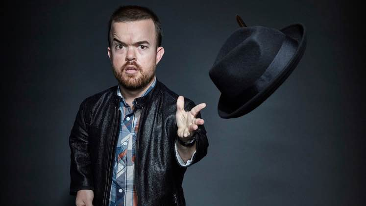 Large image of stand-Up comic Brad Williams