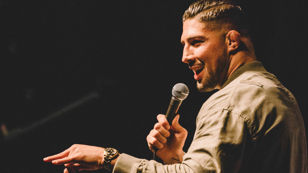 Large image of stand-Up comic Brendan Schaub