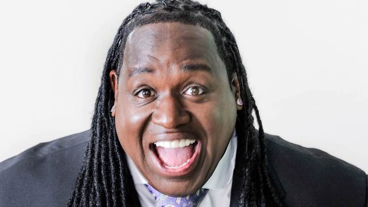 Large image of stand-Up comic Bruce Bruce