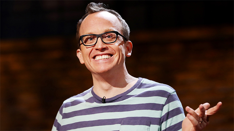 Large image of stand-Up comic Chris Gethard