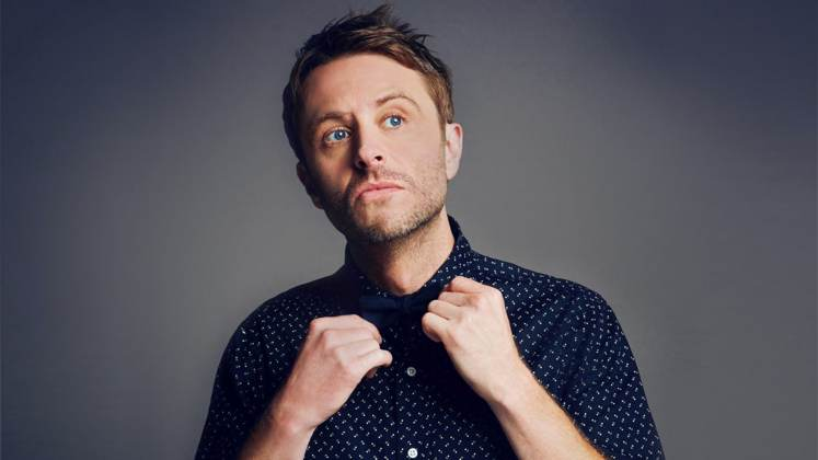 Large image of stand-Up comic Chris Hardwick