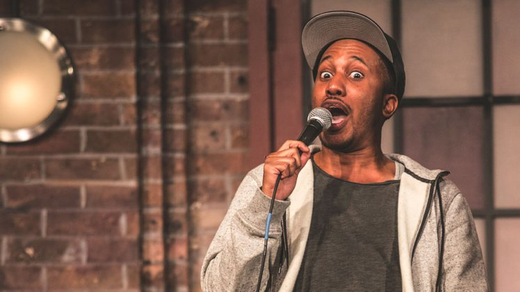 Large image of stand-Up comic Chris Redd