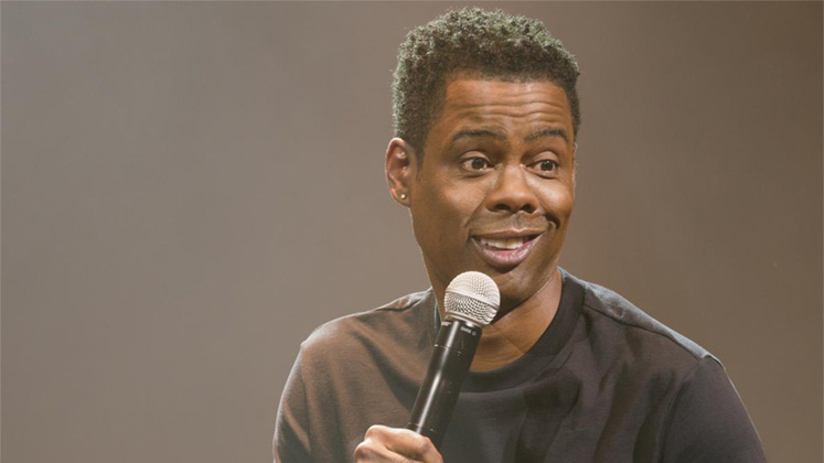 Large image of stand-Up comic Chris Rock