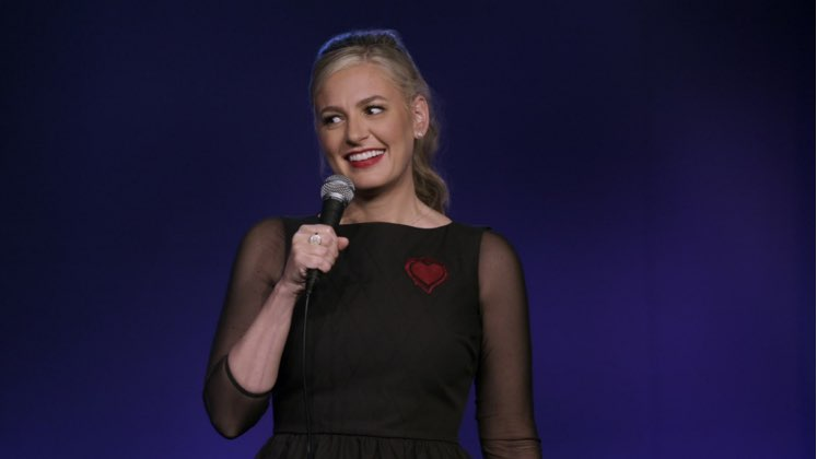 Large image of stand-Up comic Christina Pazsitzky