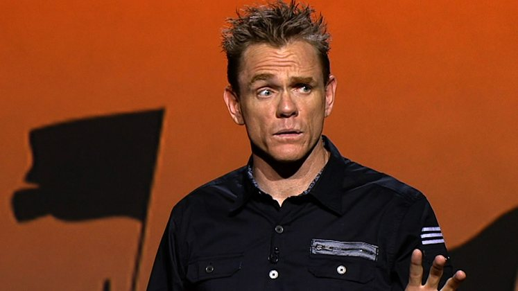 Large image of stand-Up comic Christopher Titus