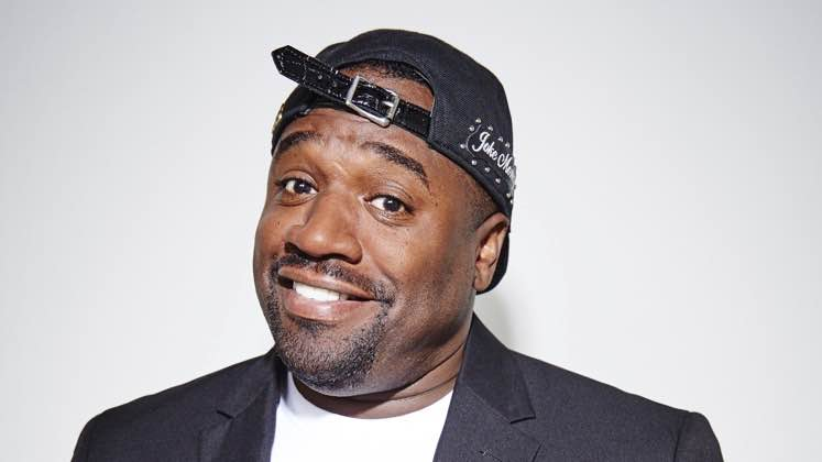 Large image of stand-Up comic Corey Holcomb