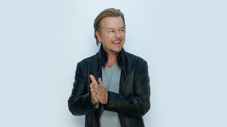 Large image of stand-Up comic David Spade