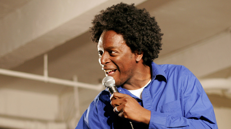 Large image of stand-Up comic Dean Edwards