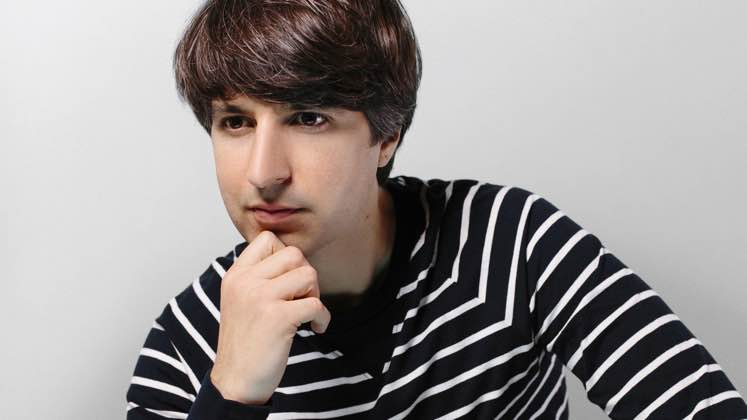 Large image of stand-Up comic Demetri Martin