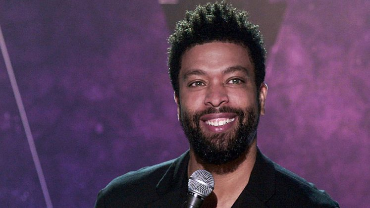 Large image of stand-Up comic DeRay Davis