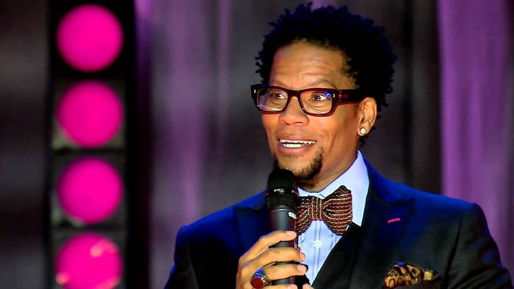 Large image of stand-Up comic D.L. Hughley