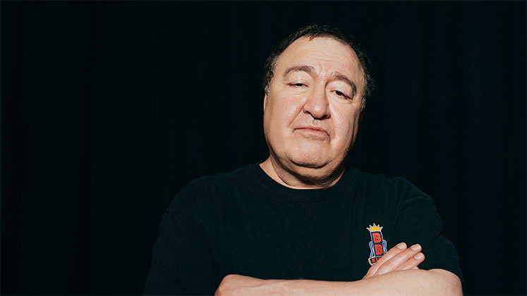 Large image of stand-Up comic Dom Irrera