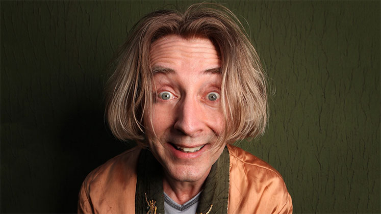 Large image of stand-Up comic Emo Philips