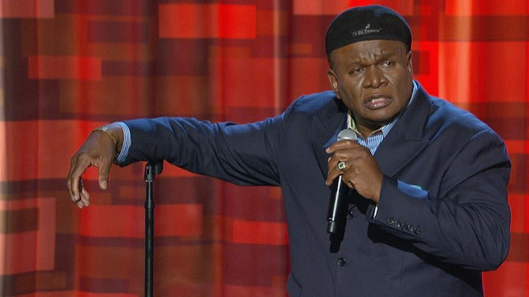 Large image of stand-Up comic George Wallace
