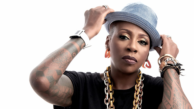Large image of stand-Up comic Gina Yashere