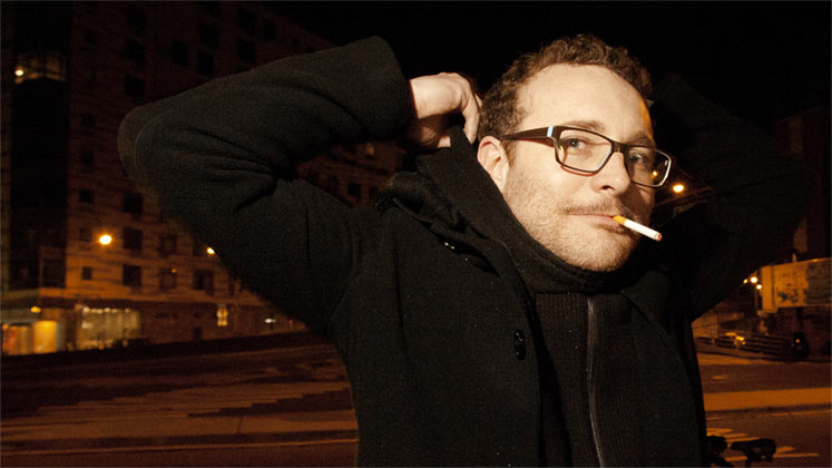 Large image of stand-Up comic James Adomian