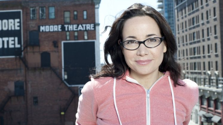 Large image of stand-Up comic Janeane Garofalo