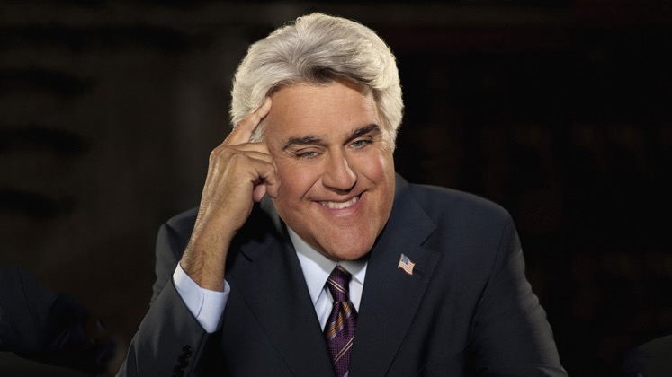 Large image of stand-Up comic Jay Leno}
