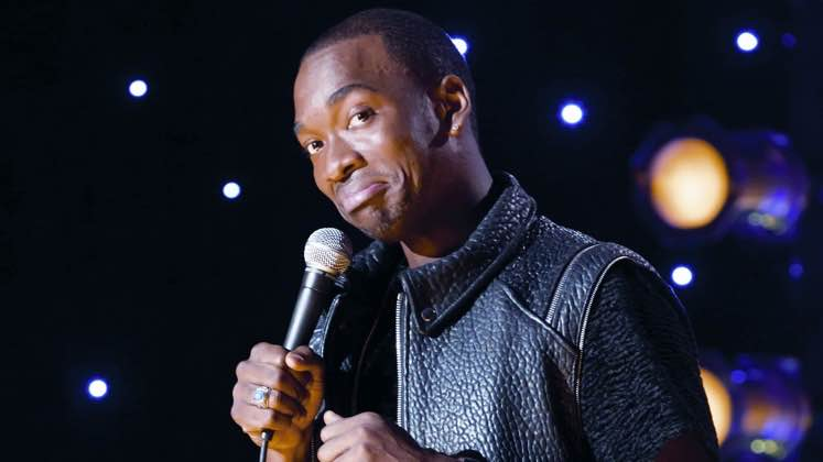 Large image of stand-Up comic Jay Pharoah