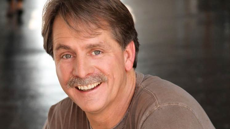 Large image of stand-Up comic Jeff Foxworthy