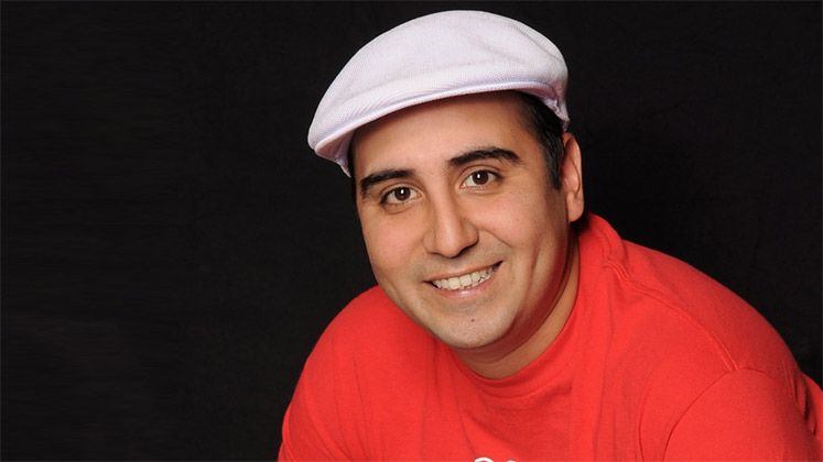 Large image of stand-Up comic Jeff Garcia