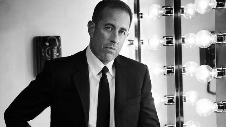 Large image of stand-Up comic Jerry Seinfeld