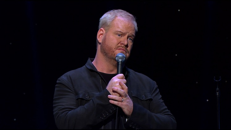 Large image of stand-Up comic Jim Gaffigan}