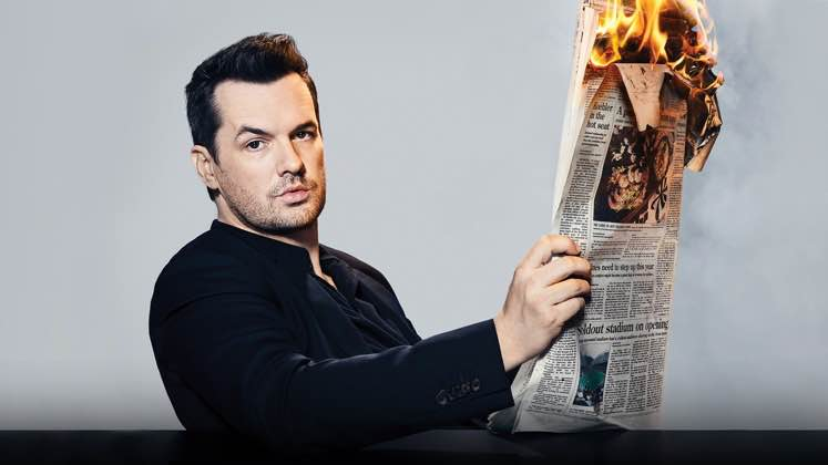 Large image of stand-Up comic Jim Jefferies