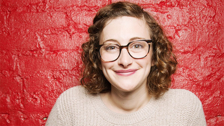 Large image of stand-Up comic Jo Firestone