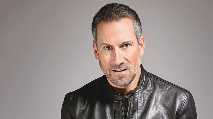 Large image of stand-Up comic Joe Matarese