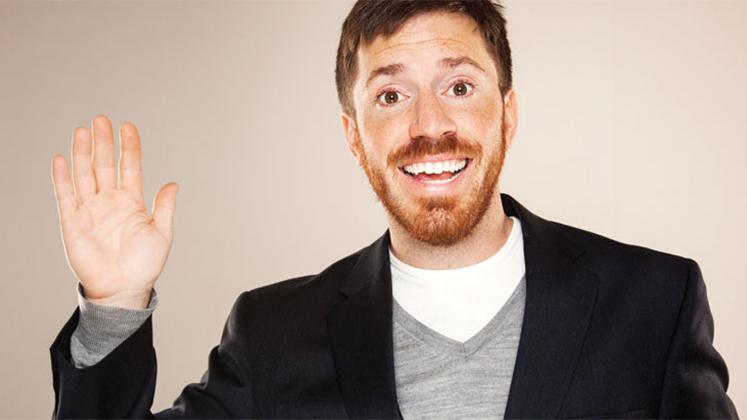 Large image of stand-Up comic Joe Zimmerman