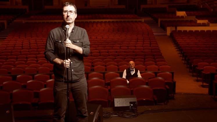 Large image of stand-Up comic John Oliver
