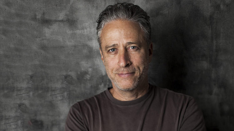 Large image of stand-Up comic Jon Stewart