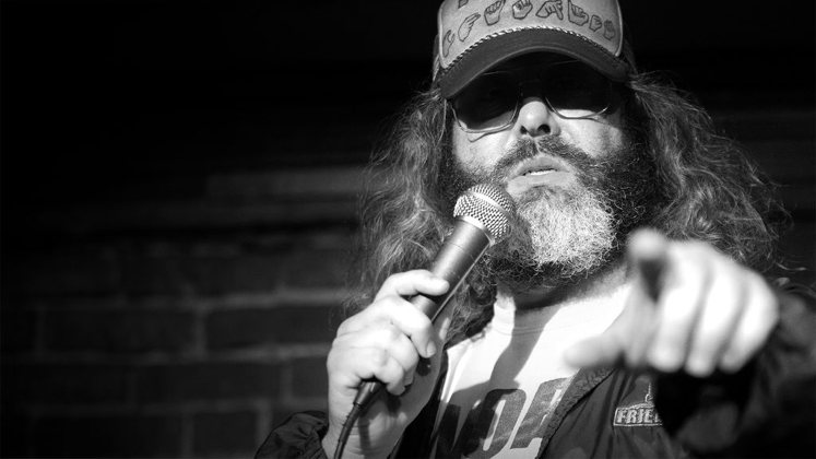 Large image of stand-Up comic Judah Friedlander