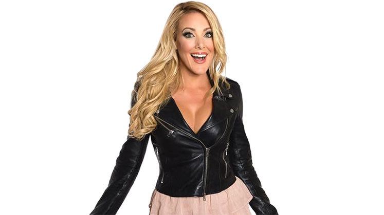 Large image of stand-Up comic Kate Quigley