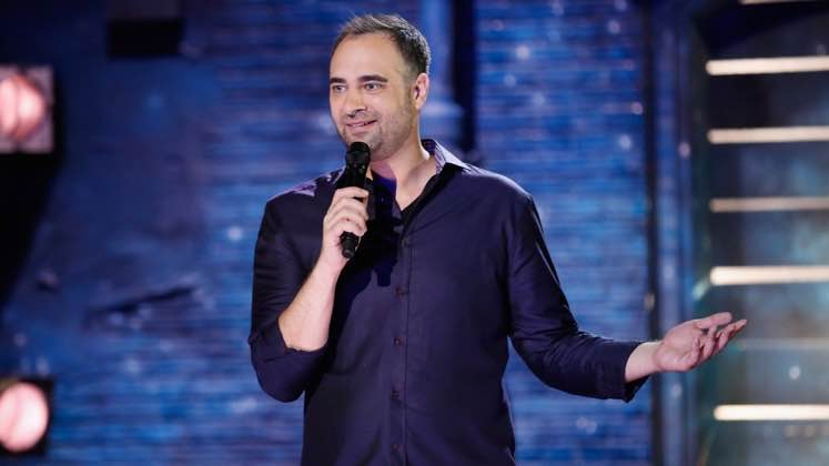 Large image of stand-Up comic Kurt Metzger