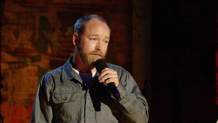 Large image of stand-Up comic Kyle Kinane