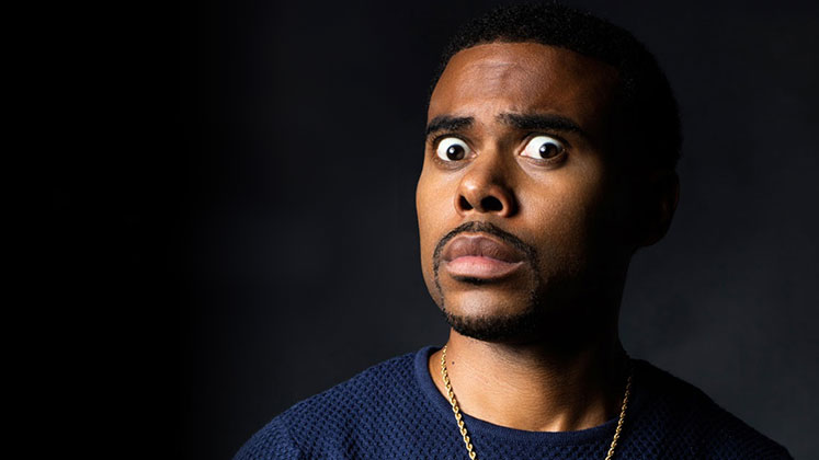 Large image of stand-Up comic Lil Duval